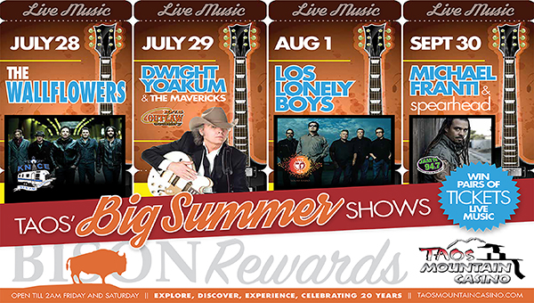 Taos Mountain Casino Summer Concert Series